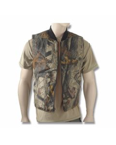 Camo Reversabl Hunting Vest - XL