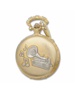 Thomas Edison's Phonograph Great Inventions Pocket watch