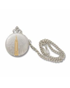 Empire State Building Pocketwatch