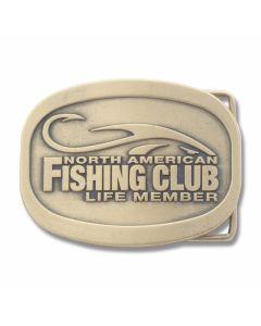 North American Fishing Club Life Time Belt Buckle
