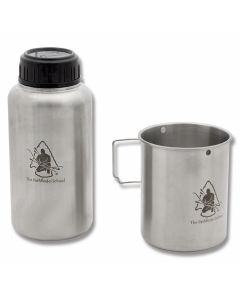 Self Reliance Outfitters GEN3 Pathfinder Stainless steel 32oz Bottle and Nesting Cup Set