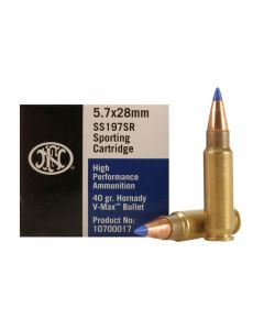 Federal V-Max 5.7x28mm 40 Grain V-Max Polymer Tipped 50 Rounds