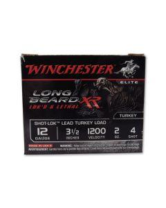 """Winchester Long Beard XR 12 Gauge 3-1/2"""" 2oz #4 Copper Plated Shot 10 Rounds"""