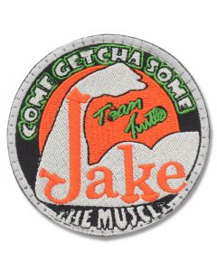 "Turtle Man Jake ""The Muscle"" Round Patch"
