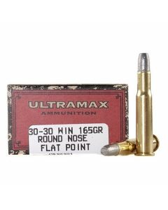 Ultramax Cowboy Action 30-30 Winchester 165 Grain Lead Flat Nose 20 Rounds