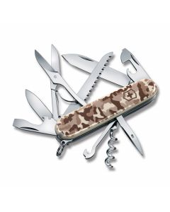 """Victorinox Swiss Army  Huntsman 3.50"""" with Desert Camouflage Composition Handles and Stainless Steel Blades and Tools Model 1.3713.941US2"""