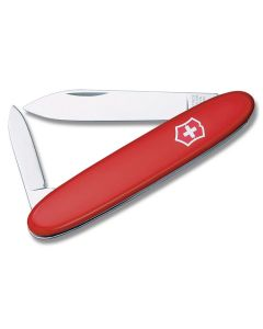 "Victorinox Pocket Pal 3.25"" with Red Composition Handle and Stainless Steel Blades and Tools Model 53281"