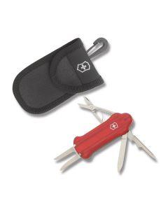 Victorinox Golf Tool and Callaway Golfball Gift Set - Ruby