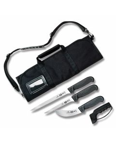 Victorinox Small Field Dressing Kit with Black Fibrox Handle and Stainless Steel Blades with Nylon Carrying Pack Model 57612