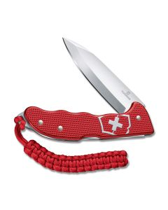 Victorinox Swiss Army Hunter Pro M Alox Lockback High Carbon Stainless Steel Blade Red Alox Handle