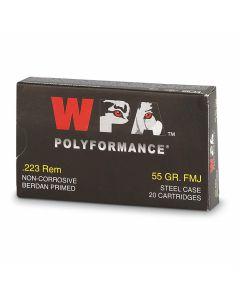 Wolf Polyformance 223 Remington 55 Grain Full Metal Jacket 20 Rounds