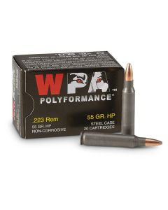 Wolf WPA Polyformance 223 Remington 55 Grain Hollow Point 500 Rounds