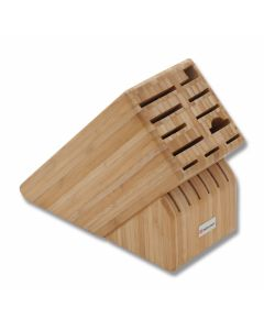 Wusthof 17 Slot Knife Storage Block - Bamboo