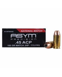 Wolf Gold 45 ACP 185 Grain Semi-Jacketed Hollow Point 50 Rounds