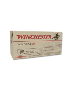 Winchester Super-X T22 Target 22 Long Rifle 40 Grain Lead Round Nose 500 Rounds
