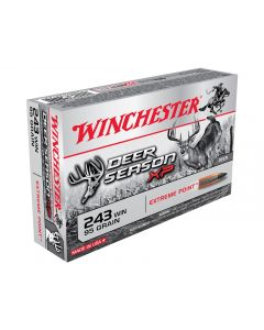 Winchester Deer Season XP 243 Winchester 95 Grain Extreme Point Polymer Tip 20 Rounds