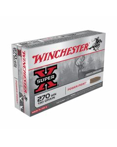 Winchester Super-X 270 Winchester 130 Grain Pointed Soft Point 20 Rounds