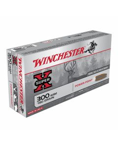Winchester Super-X 300 Winchester Short Magnum 180 Grain Pointed Soft Point 20 Rounds