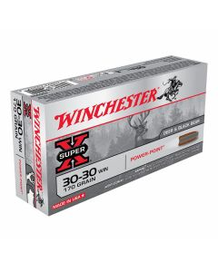 Winchester Super-X 30-30 Winchester 170 Grain Pointed Soft Point 20 Rounds