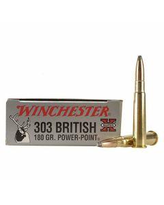 Winchester Super-X 303 British 180 Grain Pointed Soft Point 20 Rounds