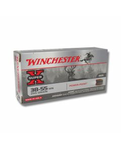 Winchester Super-X 38-55 WCF 255 Grain Soft Point 20 Rounds