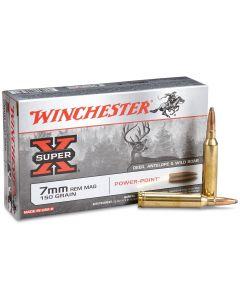 Winchester Super-X 7mm Remington Magnum 150 Grain Power-Point Soft Point 20 Rounds