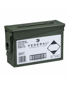 Federal 5.56x44mm 55 Grain Full Metal Jacket Ball 420 Rounds