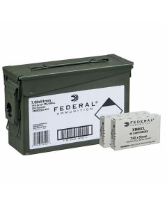 Federal XM 7.62x51 NATO 149 Grain Full Metal Jacket 220 Rounds