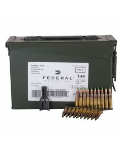 Federal XM 223 Remington/5.56 NATO 62 Grain Full Metal Jacket 420 Rounds