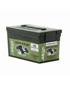 Federal American Eagle XM 223 Remington/5.56 NATO 62 Grain Full Metal Jacket 120 Rounds