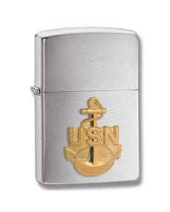 "Zippo ""Navy Anchor Emblem"" Lighter Model 10510"