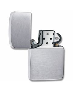 "Zippo ""1941 Replica"" Lighter with Brushed Chrome Finish"