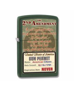 Zippo The 2nd Amendment Lighter