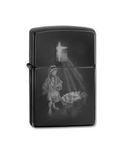 Zippo High Polish Black Drummer Boy Lighter