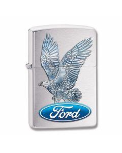 Zippo Ford Eagle Brushed Chrome Lighter