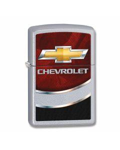 Zippo Chevrolet Satin Chrome Lighter