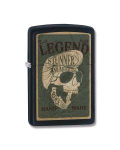 Zippo Black Matte Legend Lighter