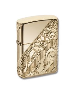 Zippo 2018 Collectible of the Year Golden Scroll Lighter