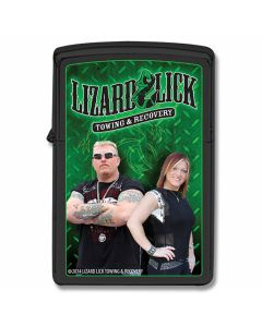 Zippo Lizard Lick Towing Ron and Amy Lighter