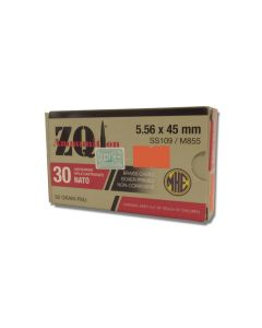 ZQI 5.56x45mm 62 Grain Full Metal Jacket 30 Rounds