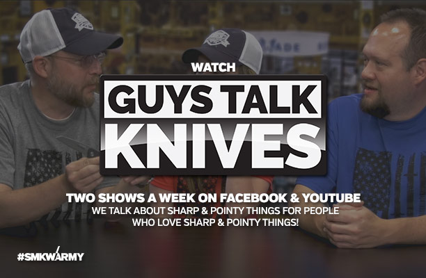 Watch Guys Talk Knives - Two Shows A Week on Facebook & Youtube