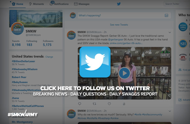 Click Here to Follow Us on Twitter - Breaking News, Daily Questions, Daily Swaggs Report