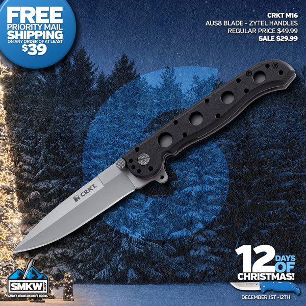CRKT M16 Zytel with Spear Point - Today $29.99!