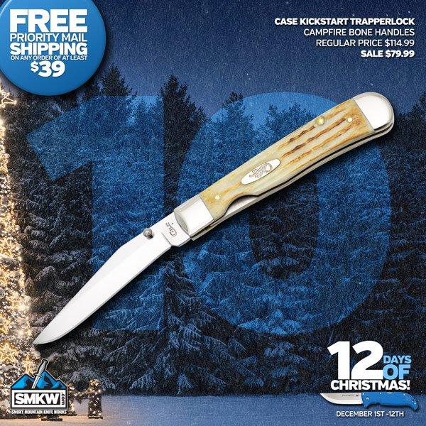 Case Kickstart Campfire Jigged Bone - Today $79.99!