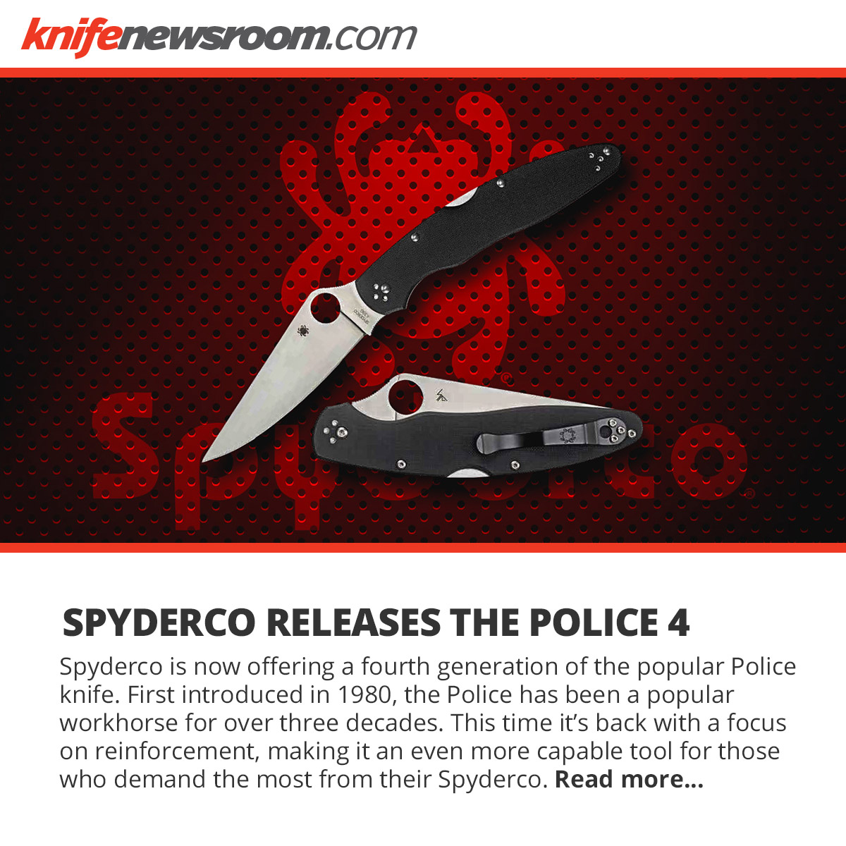 Spyderco Police 4