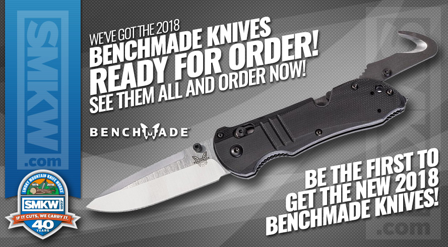 Benchmade 2018 New Releases