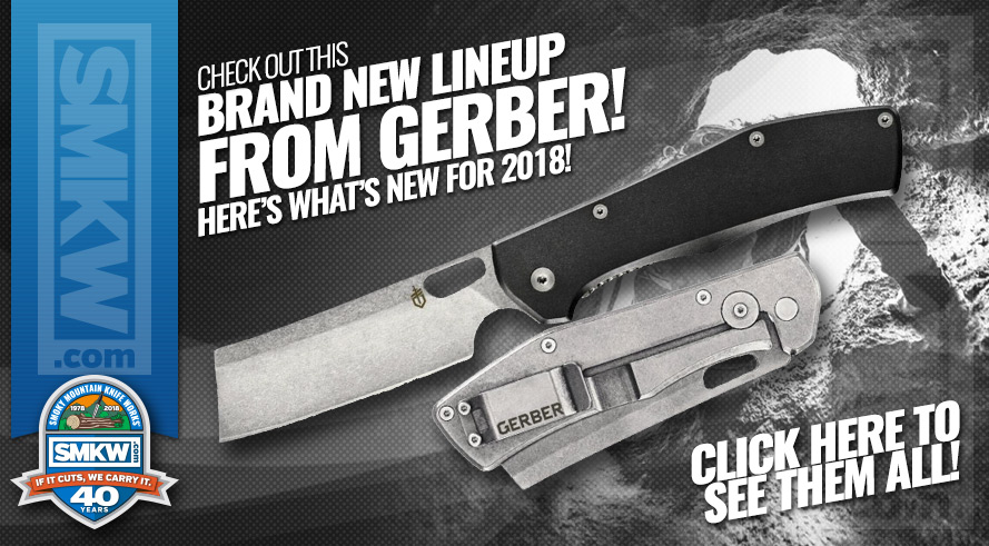 New 2018 Gerber and Winchester Knives Available to Pre-order!