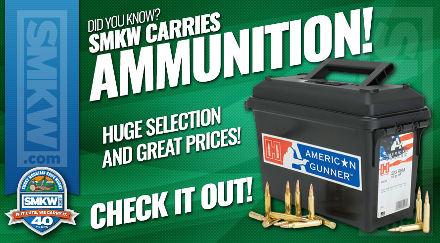 We now carry a large selection of ammo at great prices!