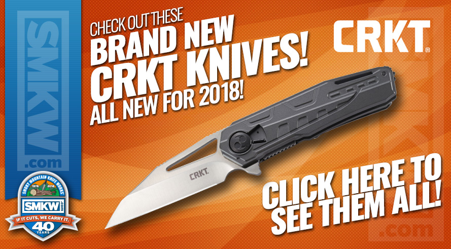 New 2018 CRKT Products Now In Stock!