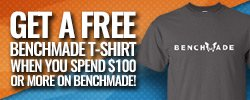 Benchmade Tshirt with Purchase